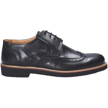 Boty Muži Šněrovací polobotky  Exton 9190 Černá