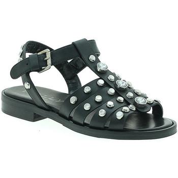 Boty Ženy Sandály Mally 6134 Černá