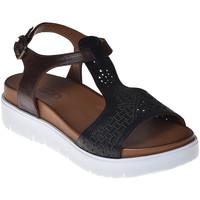 Boty Ženy Sandály Bueno Shoes N3403 Černá