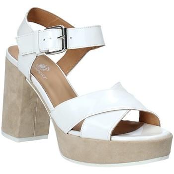 Boty Ženy Sandály Janet Sport 43883 Bílý