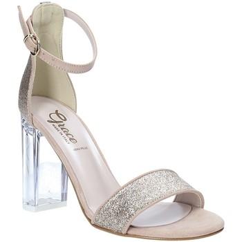 Boty Ženy Sandály Grace Shoes 018TR003 Béžový