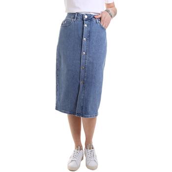 Textil Ženy Sukně Calvin Klein Jeans K20K202027 Modrý