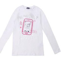 Textil Děti Trička s dlouhými rukávy Chicco 09006871000000 Bílý