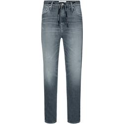 Textil Ženy Rifle rovné Calvin Klein Jeans J20J213332 Šedá