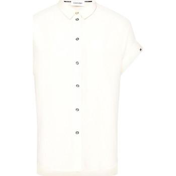 Textil Ženy Košile / Halenky Calvin Klein Jeans K20K201950 Béžový