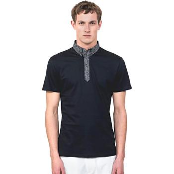 Textil Muži Polo s krátkými rukávy Antony Morato MMKS01489 FA100084 Modrý