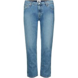 Textil Ženy Rifle slim Calvin Klein Jeans J20J212767 Modrý