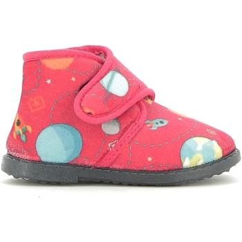 Boty Děti Papuče Blaike BI010003S Červené