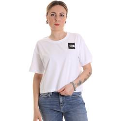 Textil Ženy Trička s krátkým rukávem The North Face NF0A4SY9FN41 Bílý