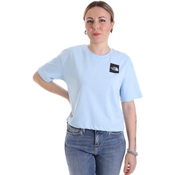 Textil Ženy Trička s krátkým rukávem The North Face NF0A4SY9JH51 Modrý