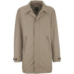 Textil Muži Kabáty Geox M7221Q T2270 Béžový