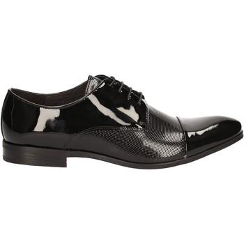 Boty Muži Šněrovací společenská obuv Rogers 7186A Černá