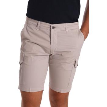 Textil Muži Kraťasy / Bermudy Sei3sei PZV130 7148 Béžový