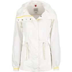 Textil Ženy Bundy Geox W7221R T2325 Bílý