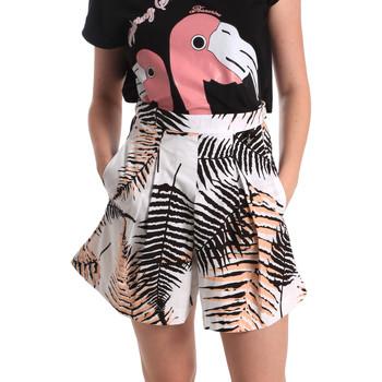 Textil Ženy Kraťasy / Bermudy Fornarina BER1I88C97709 Bílý