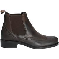 Boty Ženy Kotníkové boty Mally 4591 Hnědý