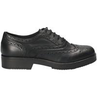 Boty Ženy Šněrovací společenská obuv Mally 4704S Černá