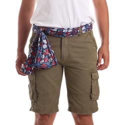 Textil Muži Plavky / Kraťasy Gaudi 911BU25034 Zelený