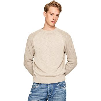 Textil Muži Svetry Pepe jeans PM701989 Béžový