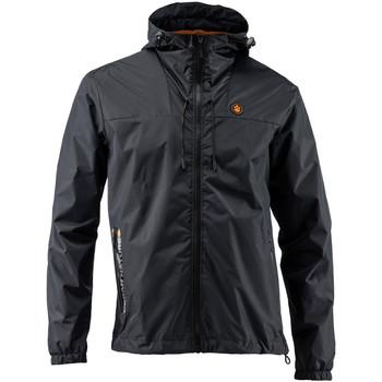 Textil Muži Teplákové bundy Lumberjack CM79723 001 407 Černá