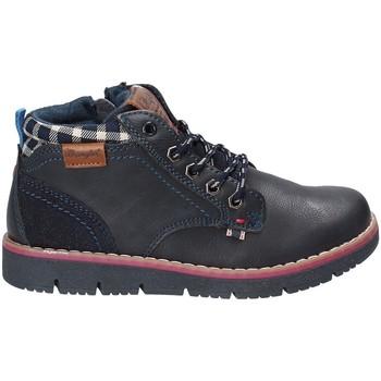 Boty Děti Kotníkové boty Wrangler WJ17215 Modrý