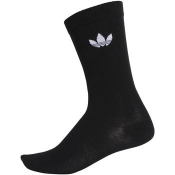 Spodní prádlo  Ponožky adidas Originals DV1729 Černá