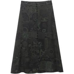 Textil Ženy Sukně Desigual 19WWFW16 Zelený