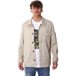 Textil Muži Kabáty Calvin Klein Jeans K10K105272 Šedá
