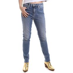 Textil Ženy Rifle slim Calvin Klein Jeans J20J212737 Modrý