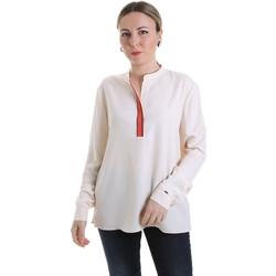 Textil Ženy Halenky / Blůzy Calvin Klein Jeans K20K201722 Béžový
