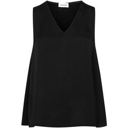 Textil Ženy Halenky / Blůzy Calvin Klein Jeans K20K201807 Černá