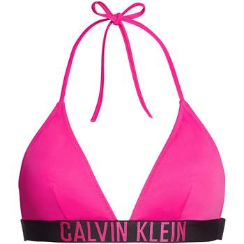 Textil Ženy vrchní  a spodní díl Calvin Klein Jeans KW0KW00883 Růžový