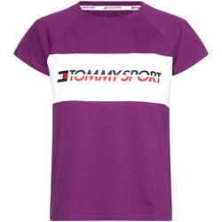 Textil Ženy Trička s krátkým rukávem Tommy Hilfiger S10S100331 Fialový