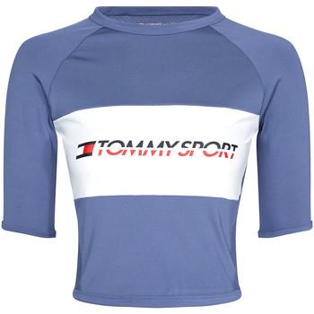 Textil Ženy Trička s krátkým rukávem Tommy Hilfiger S10S100397 Modrý