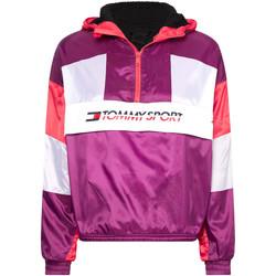 Textil Ženy Teplákové bundy Tommy Hilfiger S10S100416 Fialový