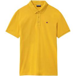 Textil Muži Polo s krátkými rukávy Napapijri NP0A4E2M Žlutá