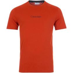 Textil Muži Trička s krátkým rukávem Calvin Klein Jeans K10K104934 Červené