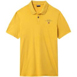 Textil Muži Polo s krátkými rukávy Napapijri NP0A4E2L Žlutá