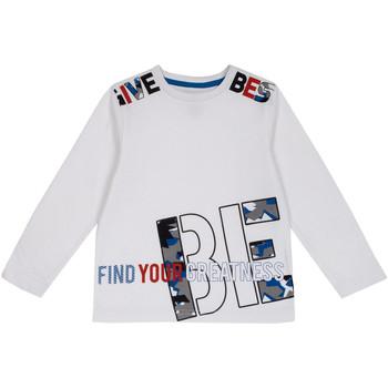 Textil Děti Trička s dlouhými rukávy Chicco 09006867000000 Bílý
