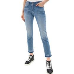 Textil Ženy Rifle slim Calvin Klein Jeans K20K201760 Modrý