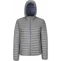 Textil Muži Prošívané bundy Geox M8225B T2449 Šedá