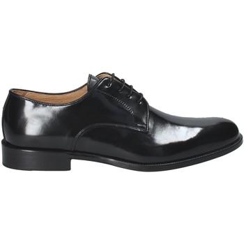 Boty Muži Šněrovací společenská obuv Exton 1374 Černá