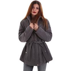 Textil Ženy Parky Geox W8420E T2506 Šedá