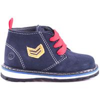 Boty Děti Kotníkové boty Melania ME1032B8I.B Modrý
