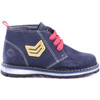 Boty Děti Kotníkové boty Melania ME2032D8I.D Modrý