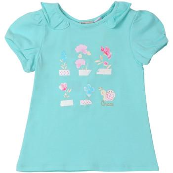 Textil Děti Trička s krátkým rukávem Chicco 09006969000000 Modrý