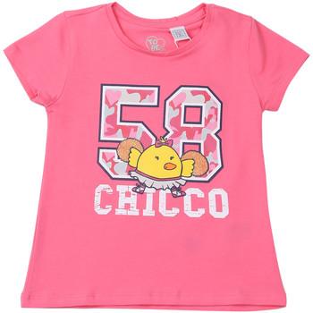 Textil Děti Trička s krátkým rukávem Chicco 09006955000000 Růžový
