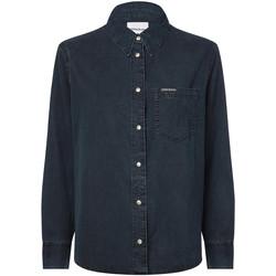 Textil Ženy Košile / Halenky Calvin Klein Jeans J20J212778 Modrý