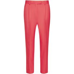 Textil Ženy Turecké kalhoty / Harémky Calvin Klein Jeans K20K201764 Růžový