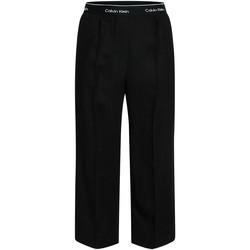 Textil Ženy Turecké kalhoty / Harémky Calvin Klein Jeans K20K201766 Černá